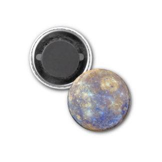 PLANET MERCURY v.2 (solar system) ~ 1 Inch Round Magnet