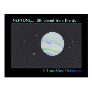 Planet NEPTUNE postcard