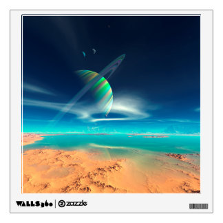 Planet Newerades - Rainbow Reflections Wall Decal