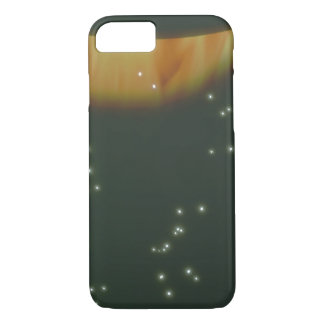Planet on Fire. (planet;stars;gas_Space Scenes iPhone 7 Case