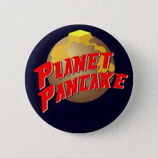 Planet Pancake Button