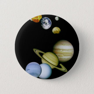 Planet Panorama 2 Inch Round Button