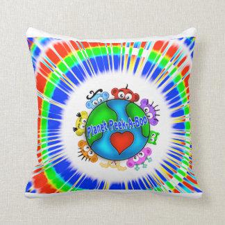 Planet Peek-A-Boo Pillow