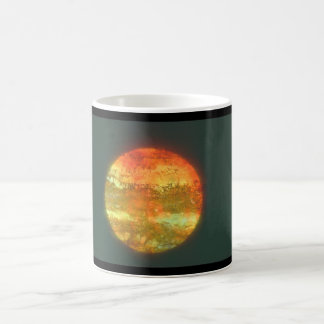 Planet. (planet;space;close-up;dark_Space Scenes Coffee Mug