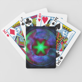 Planet Pollen Bicycle Playing Cards