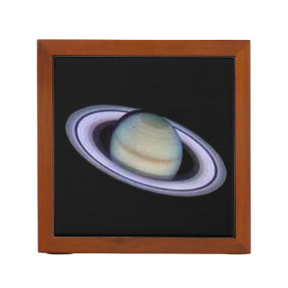 Planet Saturn Desk Organizer