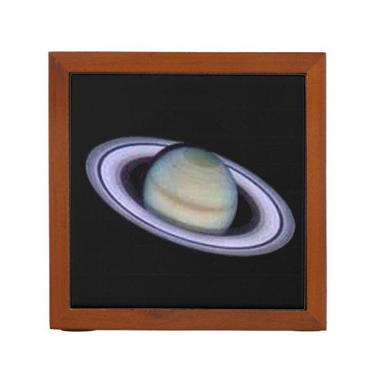 Planet Saturn Desk Organizer