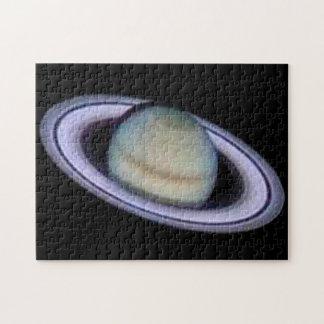 Planet Saturn Puzzles