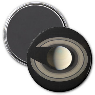 PLANET SATURN (solar system) ~ 3 Inch Round Magnet