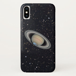 Planet Saturn Starry Sky iPhone X Case