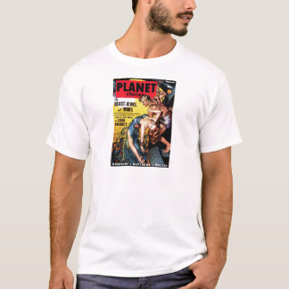 Planet Stories - Beast-Jewel of Mars T-Shirt