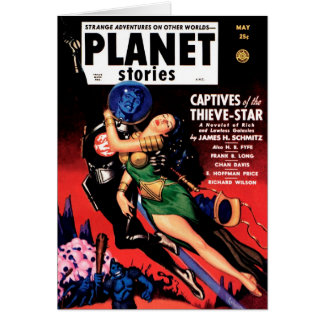 Planet Stories - Captives of the Thieve-Star Card