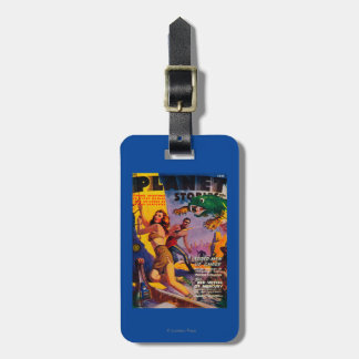 Planet Stories Magazine Cover 5 Bag Tag