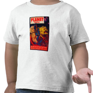 Planet Stories Magazine Cover T-shirt