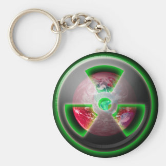 Planet Toxic Basic Round Button Keychain
