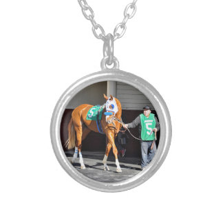 Planet Trailblazer Silver Plated Necklace