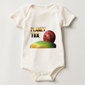 Planet Tux Baby Bodysuit