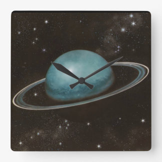 Planet Uranus Astronomy-lovers Wall Clock