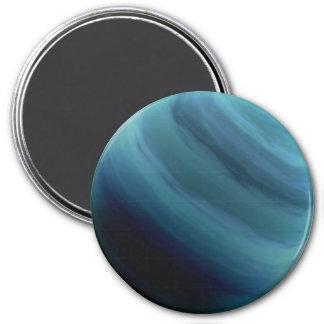 PLANET URANUS (solar system) ~ 3 Inch Round Magnet