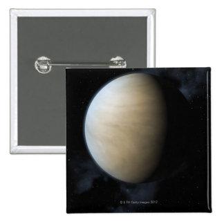 Planet Venus 2 Inch Square Button