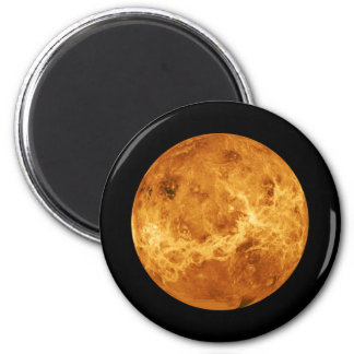 Planet Venus Seen from Space Photographic Magnet