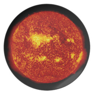 PLANET VENUS TRANSIT high definition solor system Plate
