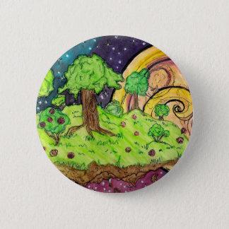 Planet Vera 2 Inch Round Button