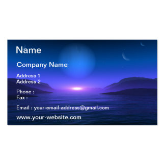 Planet Vision Business Card Template