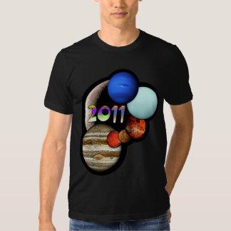 Planetary Alignment 2011 T Shirts