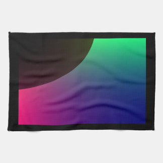 Planetary Aurora Kitchen Towel