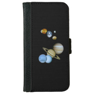 Planetary Montage iPhone 6 Wallet Case