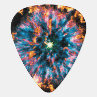 Planetary Nebula NGC 6751 Hubble Space Photo Guitar Pick