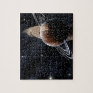 Planetary Rings Puzzle