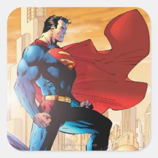 Planète quotidienne de Superman Sticker Carré