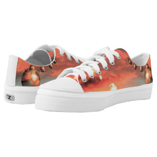 Planets Abound Low-Top Sneakers