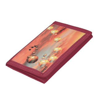 Planets Abound Tri-fold Wallet
