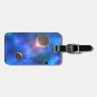 Planets and Nebulae Bag Tag
