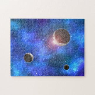 Planets and Nebulae Jigsaw Puzzle