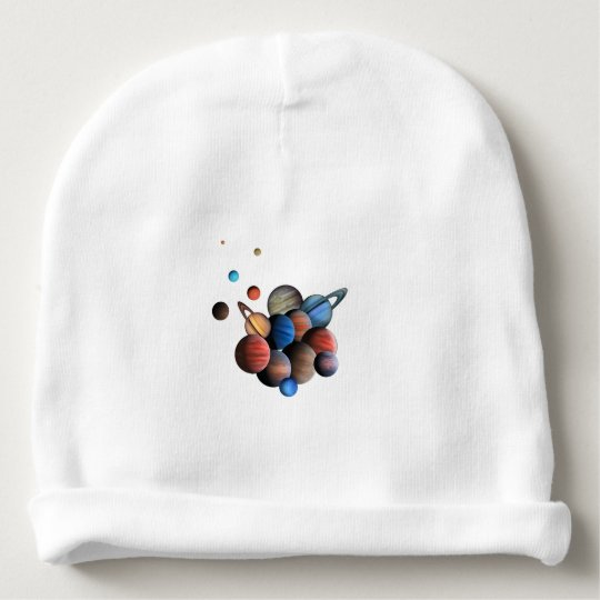 Planets Baby Beanie