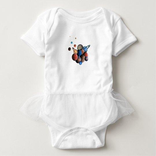 Planets Baby Bodysuit