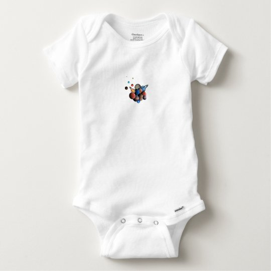Planets Baby Onesie