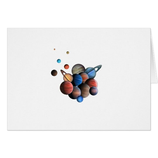 Planets Card