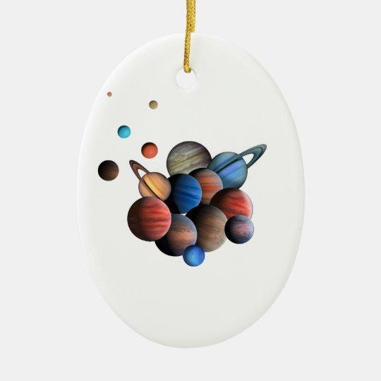Planets Ceramic Ornament