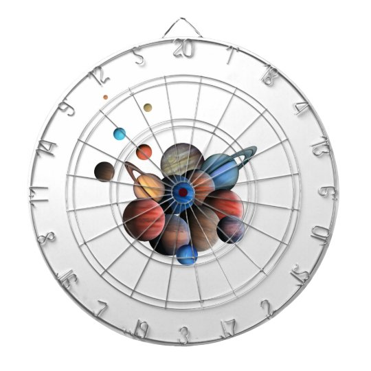 Planets Dartboard