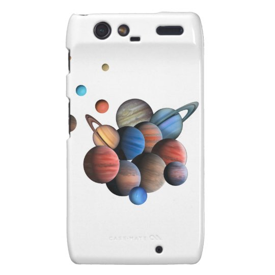 Planets Droid RAZR Covers