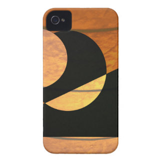 Planets Glow, Black and Copper, Graphic Design Case-Mate iPhone 4 Case