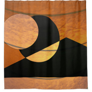 Planets Glow Shower Curtain