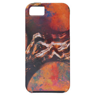Planets in cosmic waves case for the iPhone 5