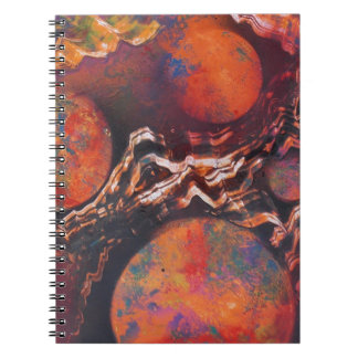 Planets in cosmic waves notebook