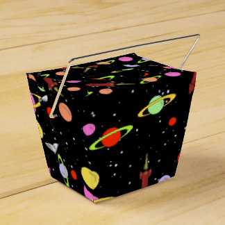 PLANETS IN SPACE by Jetpackcorps Favor Box